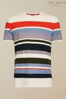 Ted Baker Wakey Short Sleeve Striped T-Shirt
