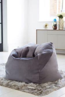 Soft Velvet Bean Chair