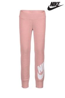 Nike Little Kids Pink Futura Logo Joggers