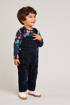 Cord Dungarees (3mths-6yrs)