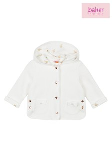baker by Ted Baker Baby Girls Quilted Hooded Jacket