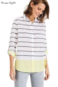 Phase Eight White Denisa Stripe Shirt