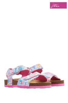 Joules White Tippytoes Strapped Sandal