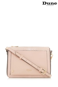 Dune Accessories Pink Small Pocket Front Cross Body Bag
