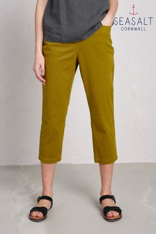 Seasalt Pear Albert Quay Crop Trouser