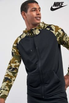 Nike Gym Black Camo Training Hoodie