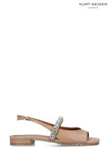 Kurt Geiger London Camel Princely Sandal Shoes