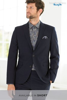 Skinny Fit Signature Check Suit