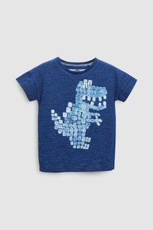 Kurzärmeliges T-Shirt mit Dinosauriermotiv (3Monate bis 6Jahre)