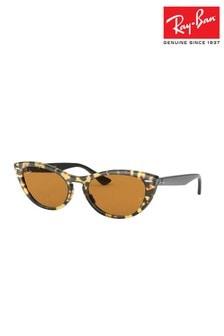 نظارة شمسية طراز عين قطة Tina من Ray-Ban