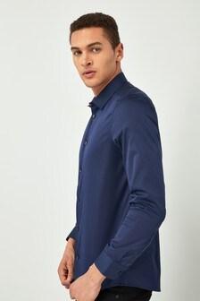 Stretch Long Sleeve Smart Shirt