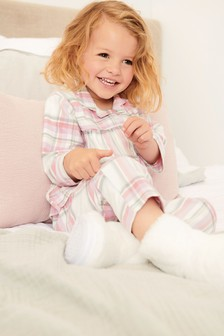 Check Woven Pyjamas With Lurex® (9mths-8yrs)