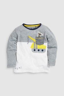 Langärmeliges Shirt (3Monate bis 6Jahre)