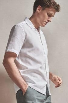 Textured Short Sleeve Shirt