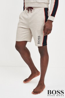 BOSS Contemporary Logo Jersey Short
