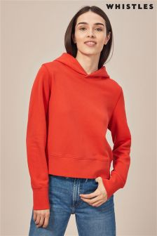 Whistles Red Fashion Hoody