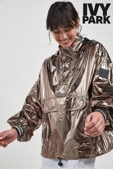 Ivy Park Bronze Half Zip Jacket