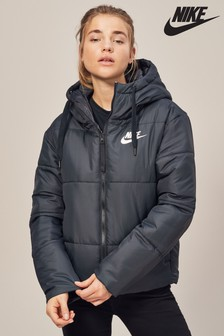 Nike Black Reversible Synthetic Fill Jacket
