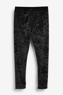 Sparkle Velvet Leggings (3-16yrs)
