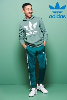 adidas Originals Green Superstar Track Pant