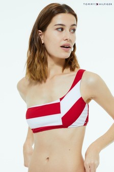 Tommy Hilfiger One Shoulder Bikini Top