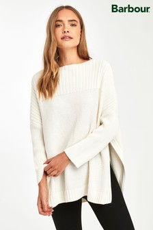Barbour® Oversized Guernsey Cape Jumper
