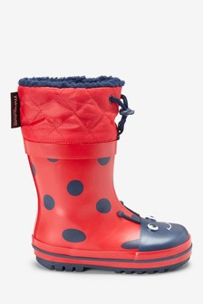 Thinsulate™ Cuff Wellies (Younger)