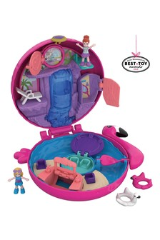 Polly Pocket Pocket World Flamingo Floatie Compact