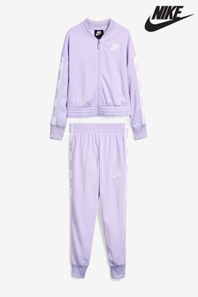 Nike Lilac Tricot Tracksuit