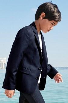 Pindot Suit Jacket (3-16yrs)