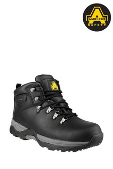 Amblers Safety Black FS17 Waterproof Lace-Up Hiker Safety Boots