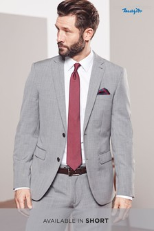 Signature Textured Tailored Fit Suit: Jacket