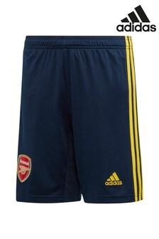 adidas Arsenal FC 2019/2020 Away Shorts für Jungendliche, Marineblau