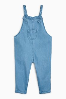 Denim Dungarees (3mths-6yrs)
