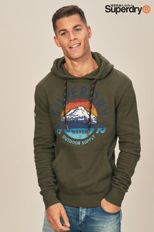 Superdry Olive Mountain Trail Hoody
