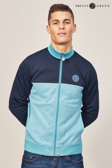Pretty Green Irwell Trainingsjacke, marineblau