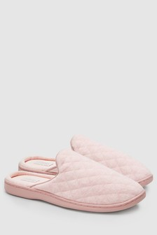 Forever Comfort Quilted Mules