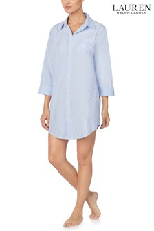 Lauren Ralph Lauren® Blue Stripe Sleepshirt