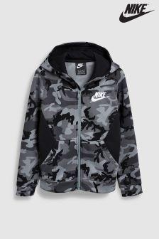 Nike Club Camo Full Zip Hoody