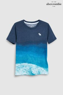 Abercrombie & Fitch Blue Wave T-Shirt