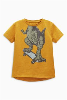 Dino Skate Graphic T-Shirt (3-16yrs)