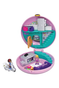 Polly Pocket Pocket World Donut Pyjama Party Compact