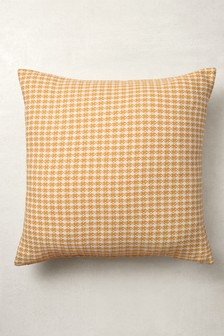 Mini Geo Jacquard Large Square Cushion