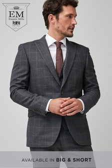 Tailored Fit Signature Check Suit