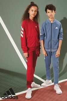 adidas Red FXG Fleece Tracksuit