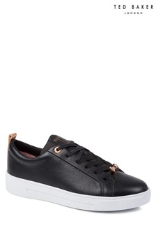 Ted Baker Black Leather Gielli Sneaker