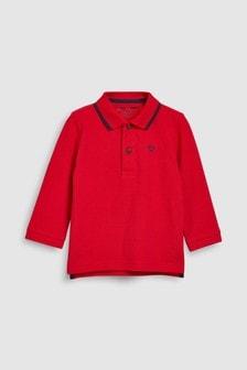 Long Sleeve Polo (3mths-7yrs)