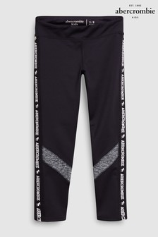 Abercrombie & Fitch Black Colourblock Legging