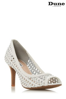 Dune London White Cruise Shoe