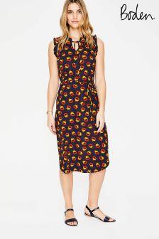 Boden Navy Lois Jersey Dress